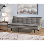 Abbyson Living Mallory Futon Sofa Bed - Gray