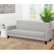 Abbyson Living Calista Futon Sofa Bed - Gray