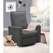 Abbyson Living Richards Power Glider Recliner - Charcoal