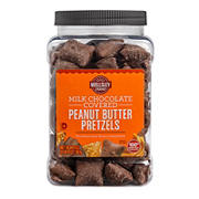 Wellsley Farms Milk Chocolate Covered Peanut Butter Pretzels, 20 oz.