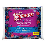 Wyman's Triple Berry with Wild Blueberries, 5 lbs.