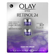 Olay Regenerist Retinol 24 Night Eye Cream, 2 ct.