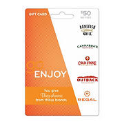 $50 GO Enjoy Gift Card