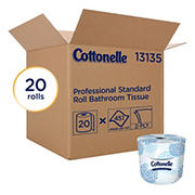 Cottonelle Professional Standard Roll Bathroom Tissue, 20 ct.