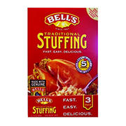 Bell's Traditional Stuffing Mix, 3 ct.