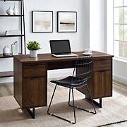 "W. Trends 54"" Modern Sled Leg Executive Desk"