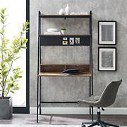 "W. Trends 36"" Urban Industrial Ladder Writing Desk - Reclaimed Barnwood"