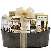 Metal Planter Gift Basket