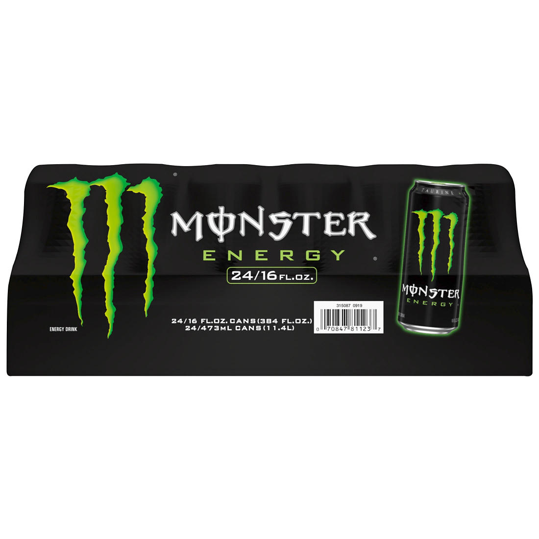 Monster Energy Drink, Original Flavor, 24 ct /16 oz