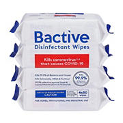 Bactive Disinfecting Wipes, 4 ct.