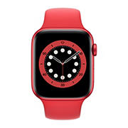 Apple Watch Series 6 GPS with PRODUCT(RED) Aluminum Case, 44mm - PRODUCT(RED) Sport Band