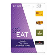 $25 GO Eat Gift Card