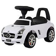 Best Ride On Cars Mercedes Push Car - White