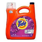 Tide Plus Febreze Freshness Spring & Renewal Liquid Laundry Detergent, 165 fl. oz.