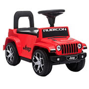 Best Ride On Cars Jeep Rubicon Push Car - Red