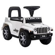 Best Ride On Cars Jeep Rubicon Push Car - White