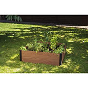 Keter Maple Raised Square Garden Bed