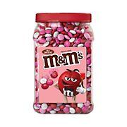 M&M'S Milk Chocolate Valentine's Day Candy Jar, 62 oz.
