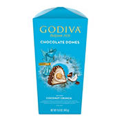 Godiva Chocolate Coconut Domes Flowerbox