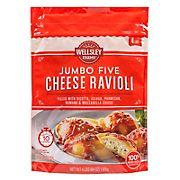 Wellsley Farms Five Cheese Jumbo Ravioli, 4 lbs.
