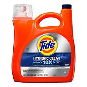 Tide Original Hygienic Clean Heavy Duty Liquid Laundry Detergent, 165 fl. oz.