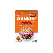 Dunkin Caramel Macchiato Breakfast Cereal, 34 oz.