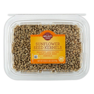 Wellsley Farms Sunflower Seeds, 18 oz.