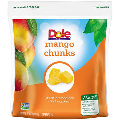 Dole Mango Chunks, 4 lbs.