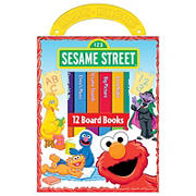 My First Library Sesame Street: 12 Board Books