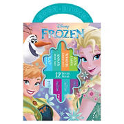 Disney Frozen My First Library Board Book Block 12-Book Set
