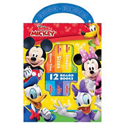 Disney Junior Mickey Mouse Clubhouse My First Library Board Book Block 12-Book Set