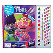 Trolls Deluxe Poster Paint & Color