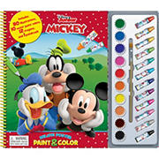 Mickey Mouse Clubhouse Deluxe Poster Paint & Color