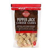 Wellsley Farms Pepper Jack Cheese Cubes, 2 lbs.