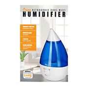 Crane 1-Gal. Drop Ultrasonic Cool Mist Humidifier - Blue/White