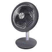 "Crane 7"" 4-Speed USB Rechargeable Desk Fan"