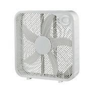 """Pelonis 20"""" Window Safe Box Fan"""