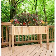 Berkley Jensen Elevated Cedar Garden Bed