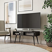 Cahill TV Stand with Shelves - Dark Espresso