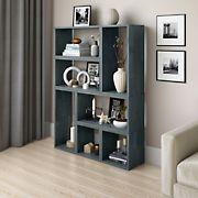 Cahill Modern 7 Block Wood Shelving Set - Gray
