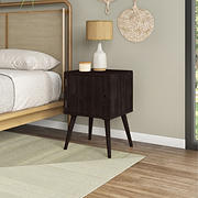 Cahill Chest-Style End Table with Door - Dark Espresso