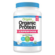 Orgain Organic Protein and Superfoods, 2.7 lbs.