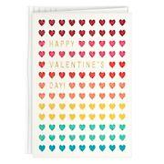 Hallmark Valentine's Day Card - Glitter Hearts