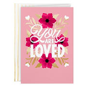Hallmark Valentine's Day Card - You Are Loved
