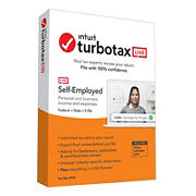 TurboTax LIVE Self-Employed Online 2020