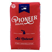 Pioneer White Granulated Sugar, 10 lbs.