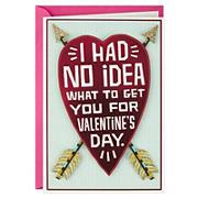 Hallmark Shoebox Funny Valentine's Day Card for Significant Other - Heart and Arrows