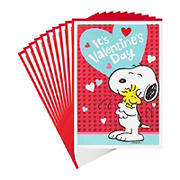 Hallmark Peanuts Valentine's Day Cards Pack - Snoopy and Woodstock