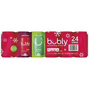 bubly Sparkling Water Holiday Variety Pack, 24 pk./12 oz.