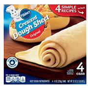 Pillsbury Original Crescent Dough Sheet, 4 ct.